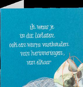 poëtische wenskaarten - woordenwinkel Symposion
